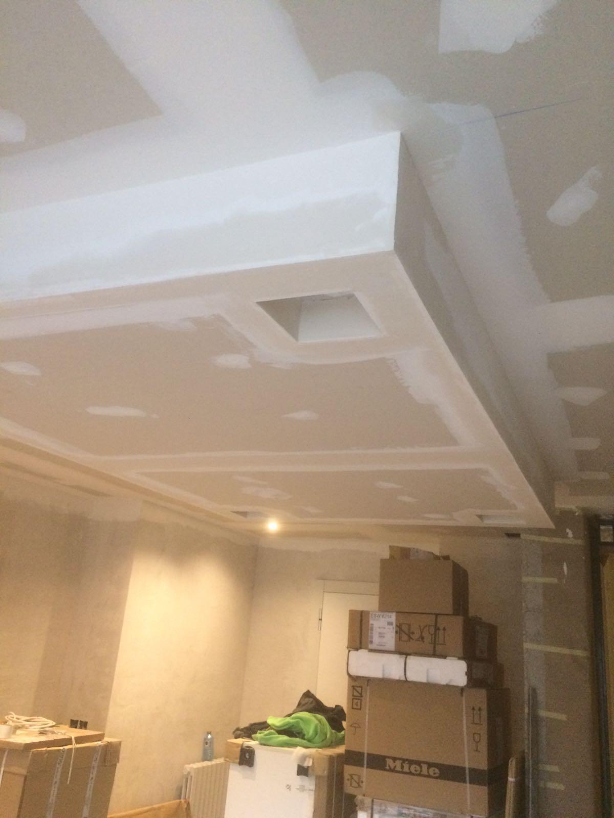 Muebles y decoraci n en pladur pladur loal burgos for Decoracion techos pladur